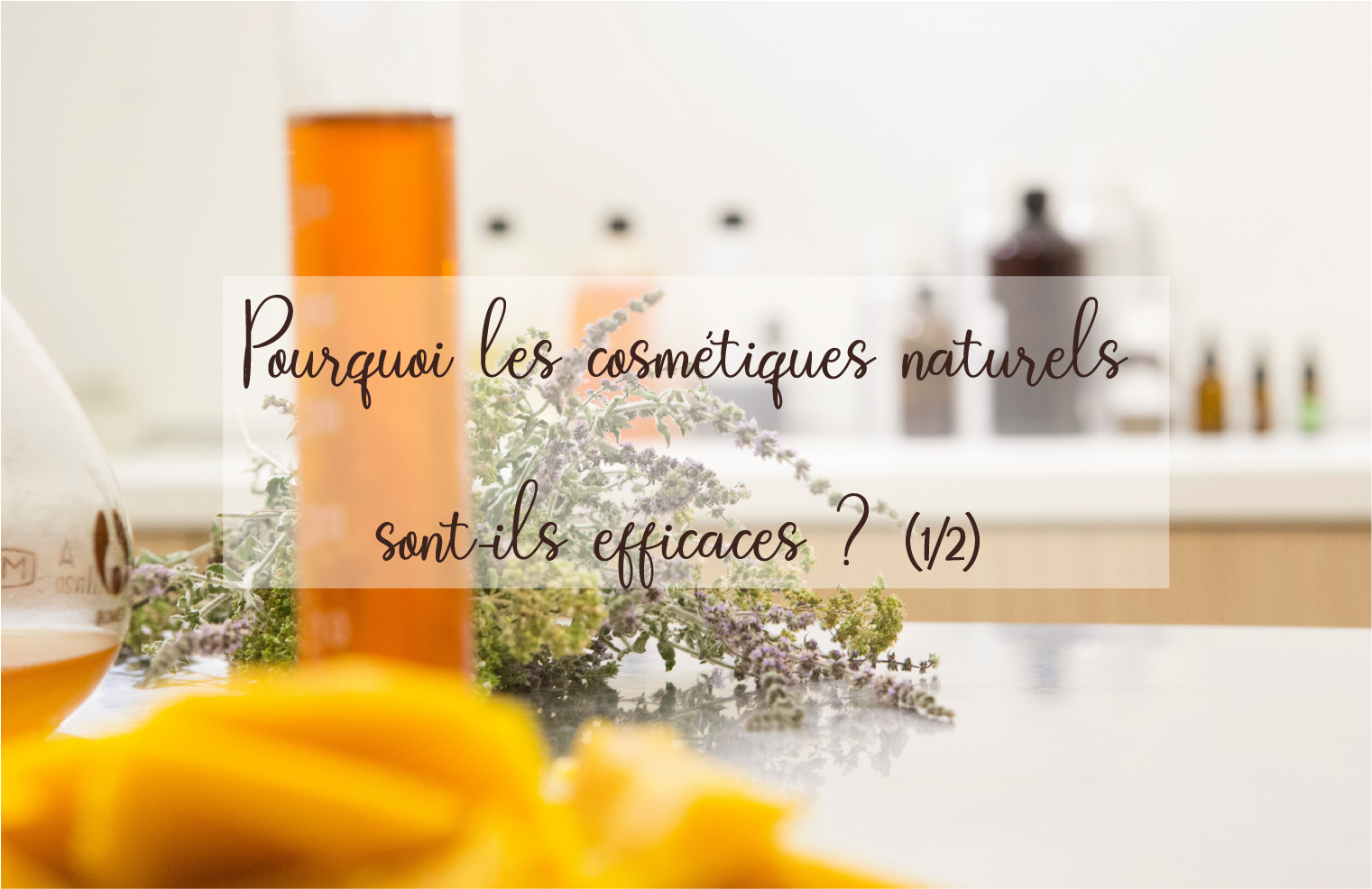 Pourquoi les cosmétiques naturels sont-ils efficaces (1/2)